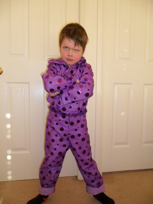 2011 riley purple outfit