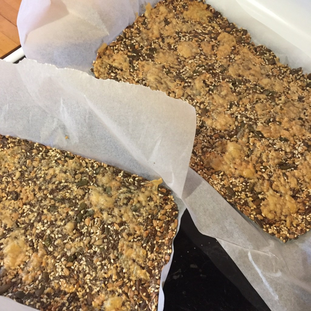 keto low carb seed cracker
