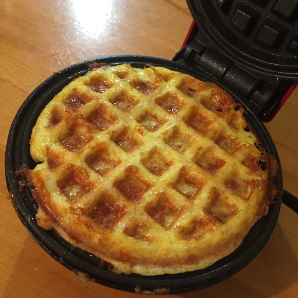 lower carb waffle