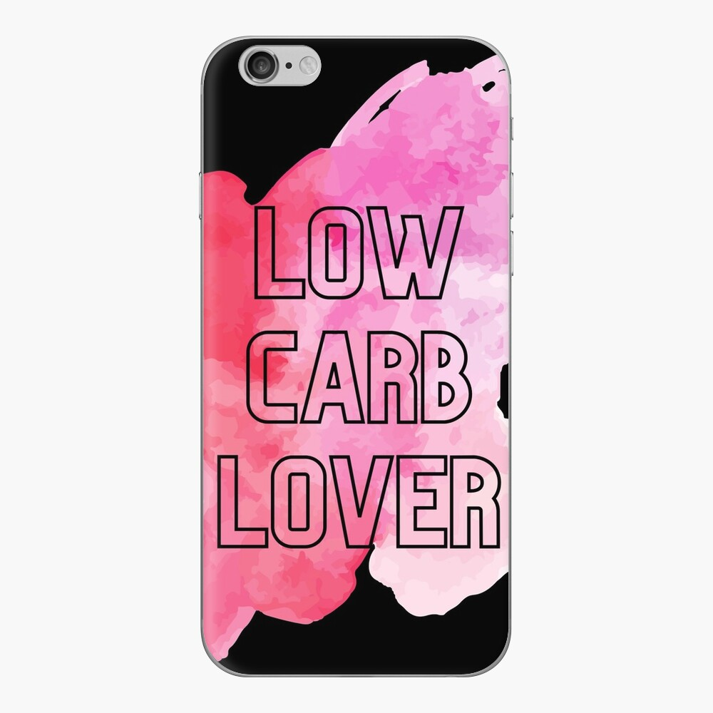 low carb lover phone case